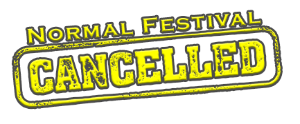 Normal Festival Cancelled stamp